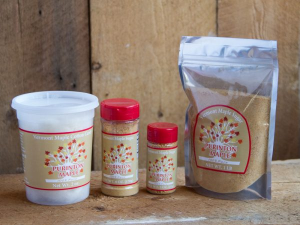 vermont made maple sugar product range