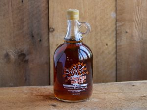 vermont maple syrup 1 liter glass bottle