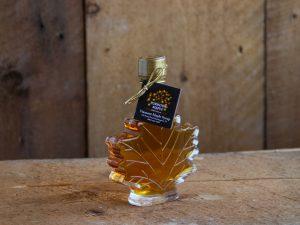 maple syrup maple leaf 3.9 ox bottle