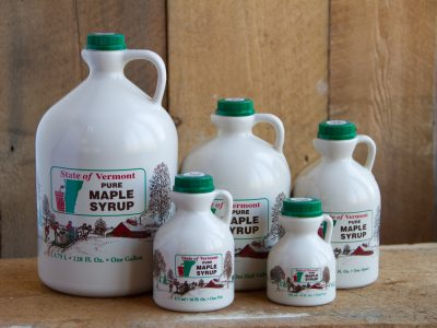 maple syrup bottle collection