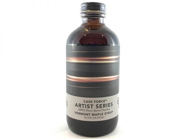 Cask Force Artist series AWFS porter barrel finished