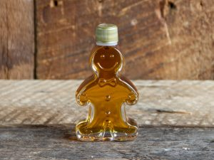 maple syrup party favor size ginger bread man