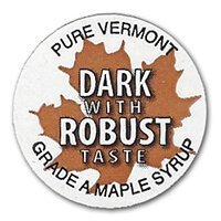 dark with robust taste badge
