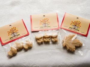 maple sugar candy in packaging