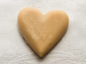 maple sugar candy heart large