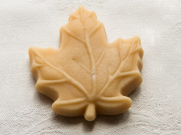 maple sugar candy large maple leaf