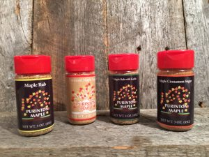 maple sugar rubs in shakers