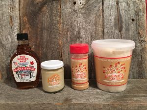Purinton maple products selection