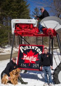 purinton maple family and the tall tracktor