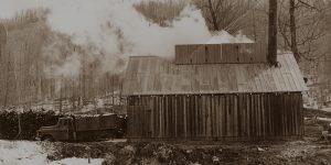 early Purinton sugarhouse